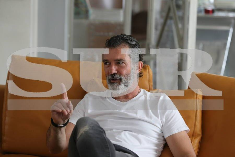 At home with Antonio Banderas - inside his Malaga apartment