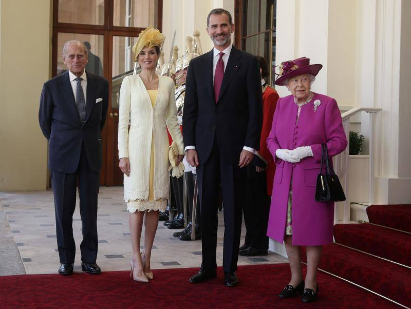 King Felipe and Queen Letizia on State visit to UK