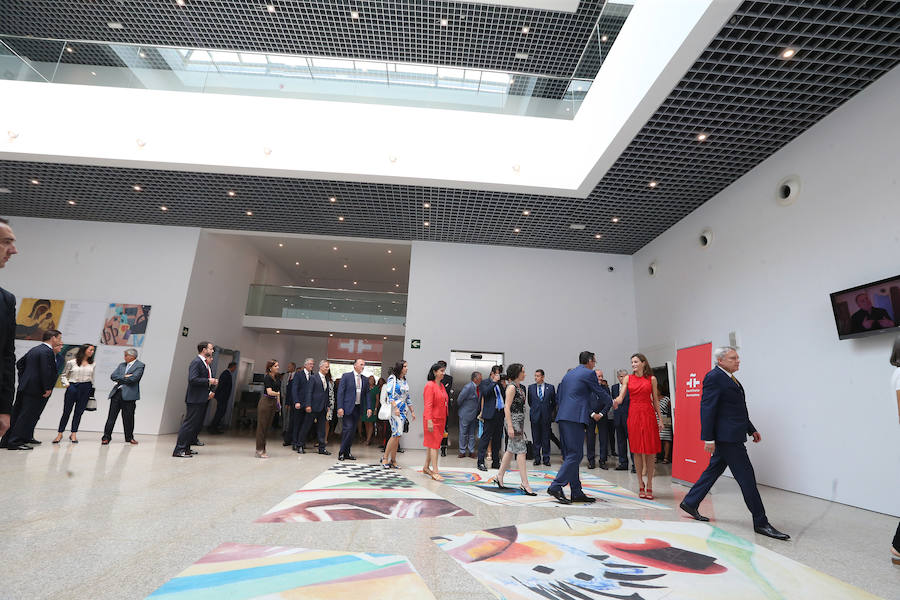 Queen Letizia opens annual meeting of the Instituto Cervantes in Malaga