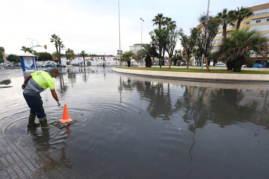 Heavy rain hits Malaga province