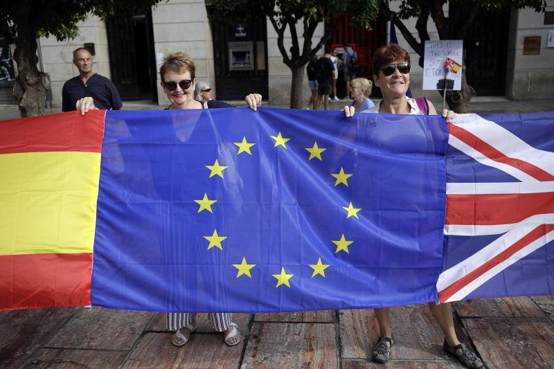 Stop Brexit - protest in Malaga