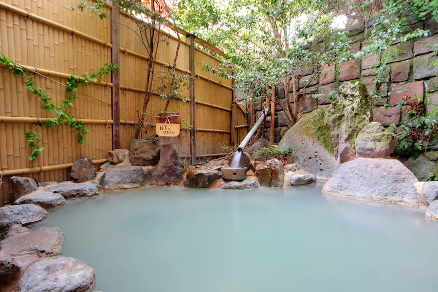 A cultural immersion at a 'onsen ryokan'