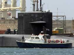 USS Florida arrives in Gibraltar's port