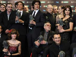 'Camino' has the starring role at the 23rd Goya Awards