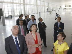 New airport terminal will be ready for use next Easter