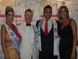 Crowning Mr and Miss Marbella