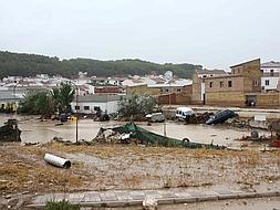 Torrential rain causes floods and chaos in Malaga province