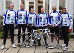 Pedal power all the way to Marbella for fundraisers