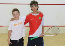 Young squash player is 'one to watch'