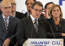 Hopes dashed at the elections in Catalu�a