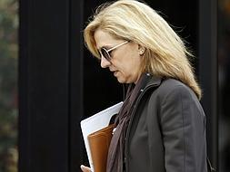 Court summons for the Infanta Cristina