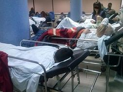 Hospitals ask for urgent measures to alleviate crowding