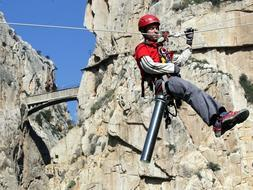 Caminito del Rey - a first step towards a new beginning