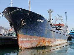 Ship seized with 15,000 kilos of hash aboard