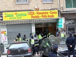 Part of terrorist cell traced to kebab shop in Malaga