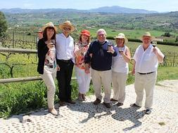Tourism with wine tasting