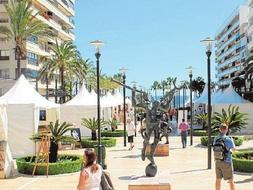 Marbella's open air international art festival has been cancelled