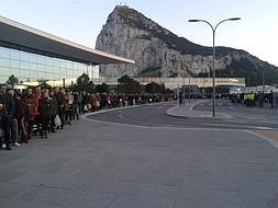 Five hundred complaints about Gibraltar border queues sent to the EU