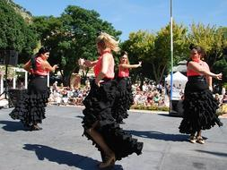 Mijas, full of flamenco