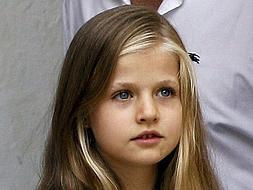 Leonor, the youngest royal heir