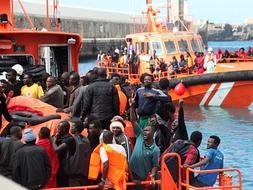 More than 1000 immigrants rescued in Gibraltar Straits
