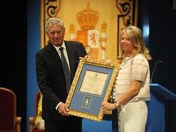 Mario Vargas Llosa named Adopted Son of Marbella