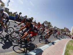 Spain's cycling tour comes to the Costa