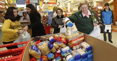 'Gran Recogida' food bank collection takes place across the region this weekend
