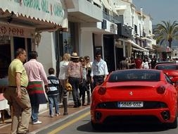 Puerto Banús, the sixth most expensive shopping street in Spain