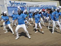 Sony returns to the blue village of J�zcar to launch part three of The Smurfs