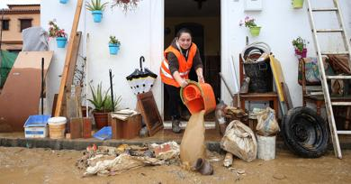 "The government declares Malaga an area ""seriously"" affected by flooding"