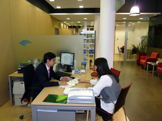 Malaga based unicaja banco set for spanish stock market for Unicaja oficinas malaga