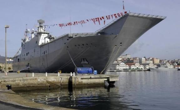 Aircraft carrier visits Malaga this weekend . surinenglish.comSpanish Aircraft Carrier Juan Carlos