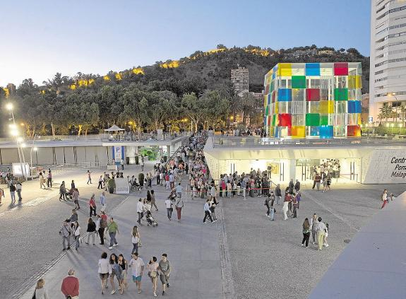 Museo Pompidou Malaga.Centre Pompidou Set To Remain In Malaga Until 2025 Following New
