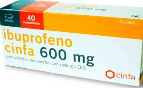 600mg ibuflam Ibuprofen Lannacher