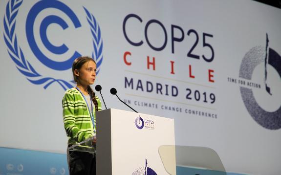 Image result for Greta at COP 25